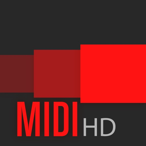 Fingertip MIDI HD - Virtual piano controller for PRO beat studio and music production.