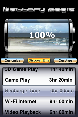 Screenshot of Battery Magic: Battery Life Battery Stats Battery Charge & Saver all in one!