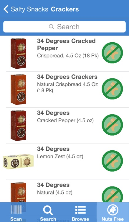 Nut-Free Food screenshot-3