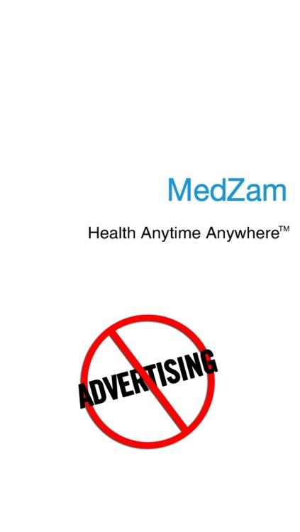 MedZam Headache Migraine Symptom Checker and Free Diary App