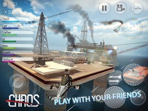 CHAOS Боевые вертолеты HD - #1 Многопользовательский симулятор вертолетов 3D для iPad