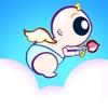 かわいいキューピッド飛行レースマニアプロ - 最高のファンタジーアドベンチャーゲーム
