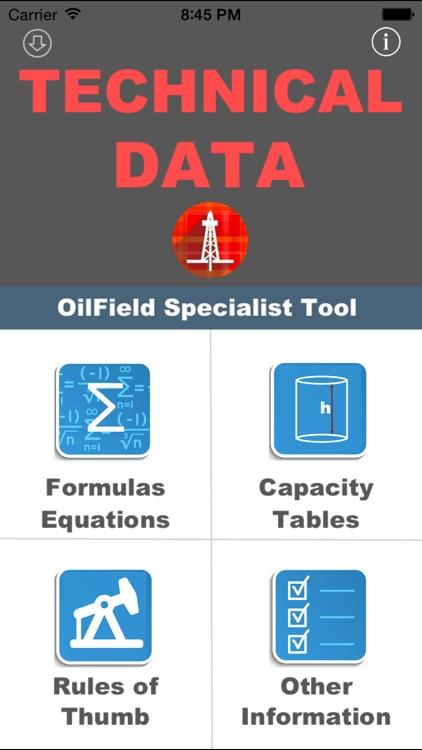 OilField Formulas for iHandy Calc.