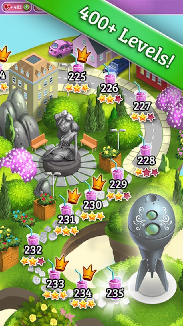 Juicy Fruit - 3 match puzzle yummy blast mania gameのおすすめ画像2