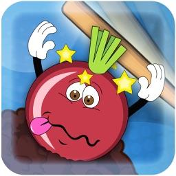 Tap Baseball Bat on Farm Vegeta - Tapped Out Farmland Heroes (Potato, Carrot, Onion) Free