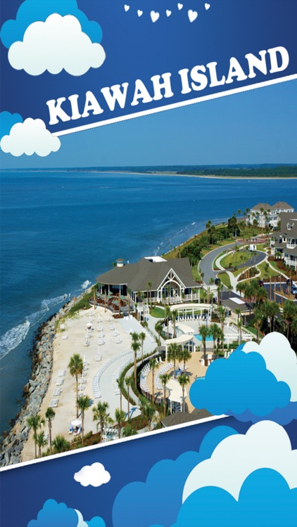 Kiawah Island Offline Map Tourism Guide