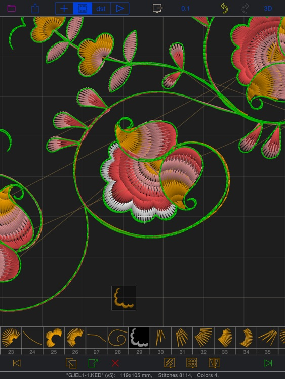 GR5 Embroidery Designer screenshot-0