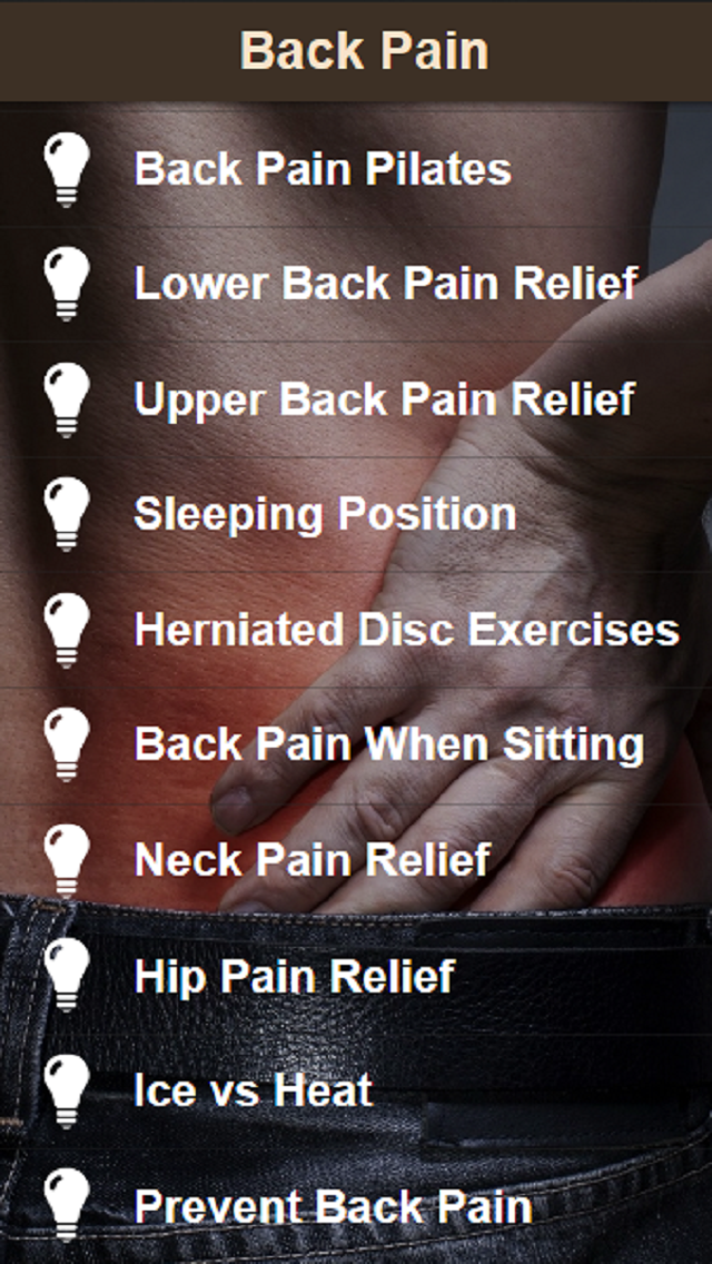 Back Pain Relief - Exercise for Low Back Pain and Neck Painのおすすめ画像2