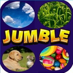 Word Jumble - With 4 Picture Clues