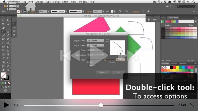 Course For Illustrator CC 101 - Illustrator Basics - Create A Logo screenshot-3