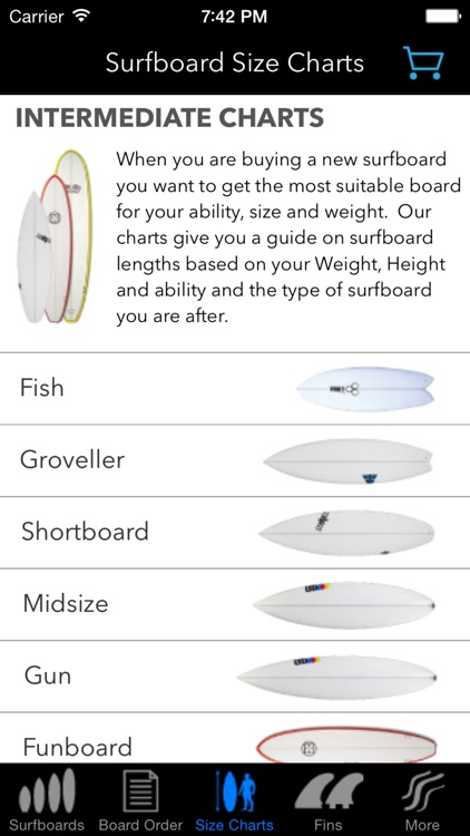iSurfer - Surfboards Guide screenshot-2