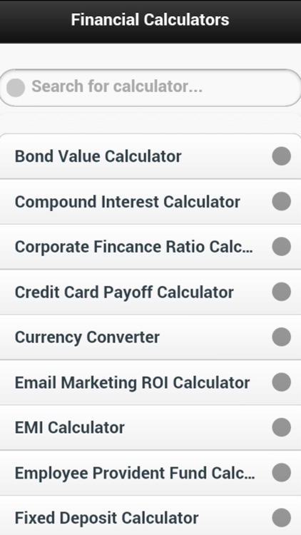 Ace Financial Calculator