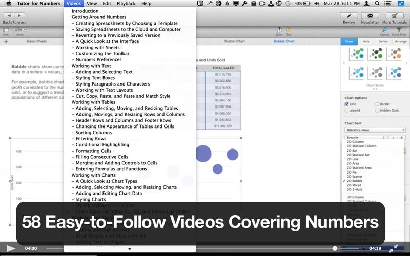 Tutor for Numbers Screenshot