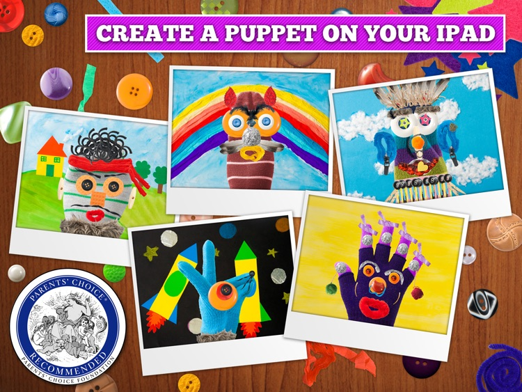 Puppet Workshop - Creativity App for Kids screenshot-0