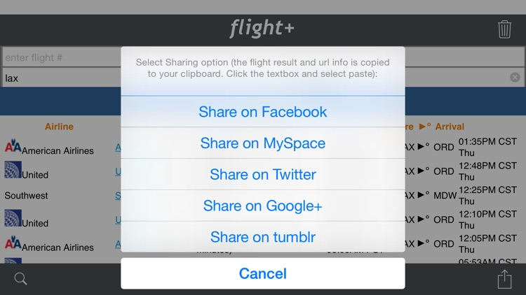 flight+: Flight Tracking & Information screenshot-3
