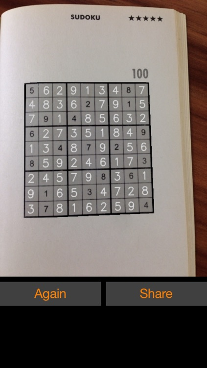 Sudoku Solver Camera screenshot-2