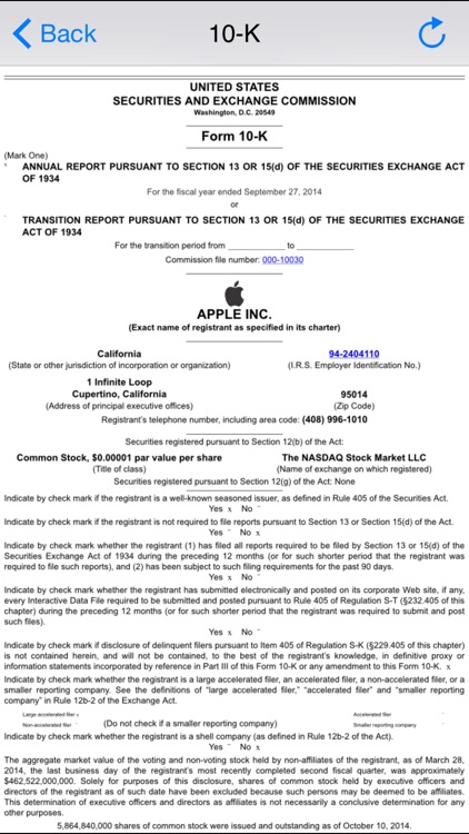 Filing Pro Free : SEC Company Filings, Report, Document with Real Time Stock Quotes, Chart Research, Watchlist screenshot-3