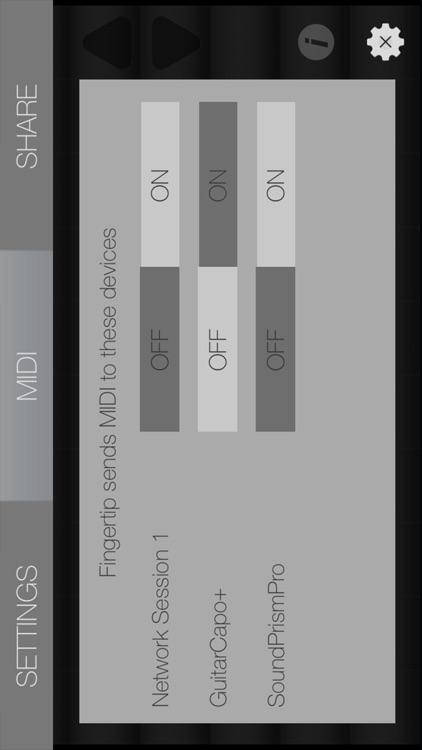Fingertip MIDI - Virtual piano controller for PRO beat studio and music production. screenshot-3