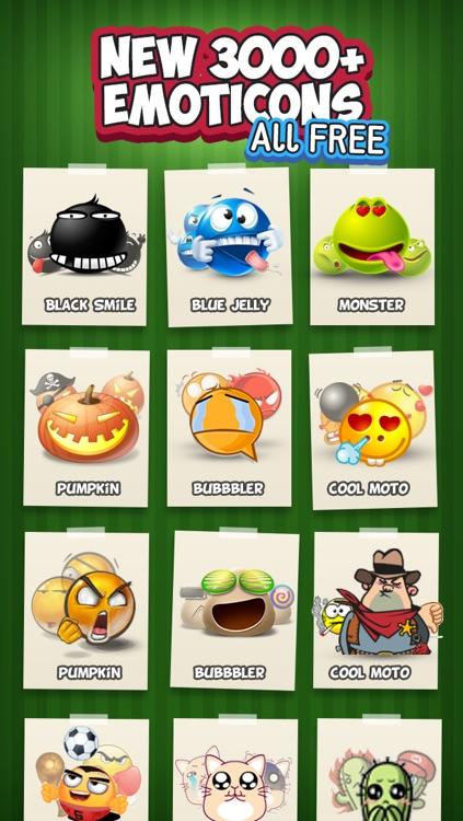 Emoji Keyboard for iOS8 - 3D Animated Emoticons Keyboard Free screenshot-3