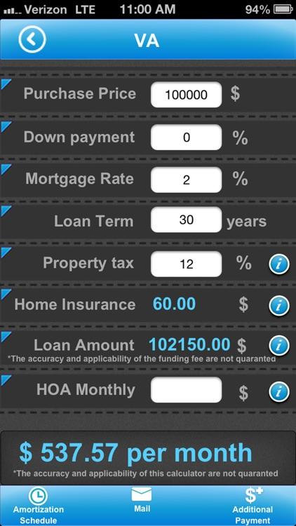 Pro Mortgage Calculator screenshot-4