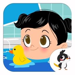 Baby Bath Time - Cute Kids App - Hindi
