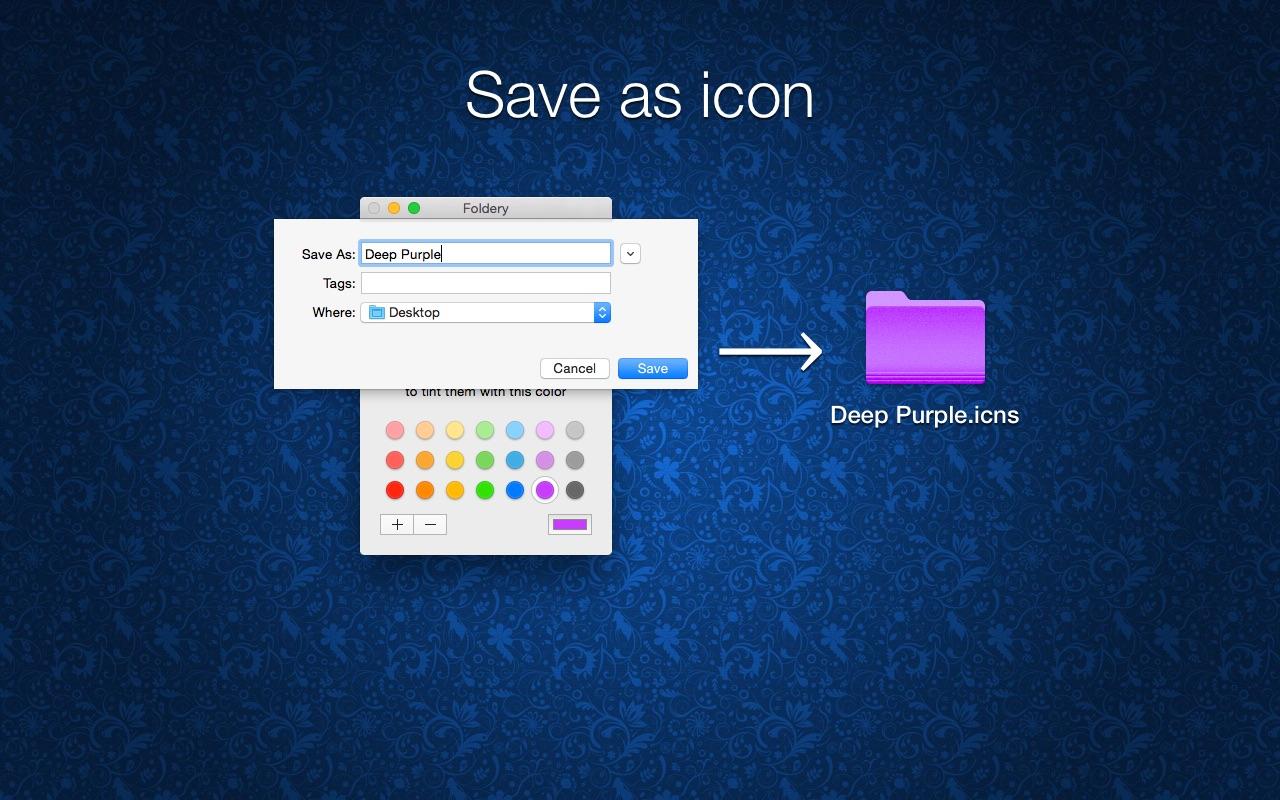 Screenshot do app Foldery