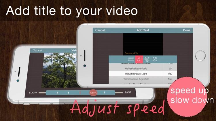 Easy Cam - Super Easy & Fast Video Editor screenshot-3