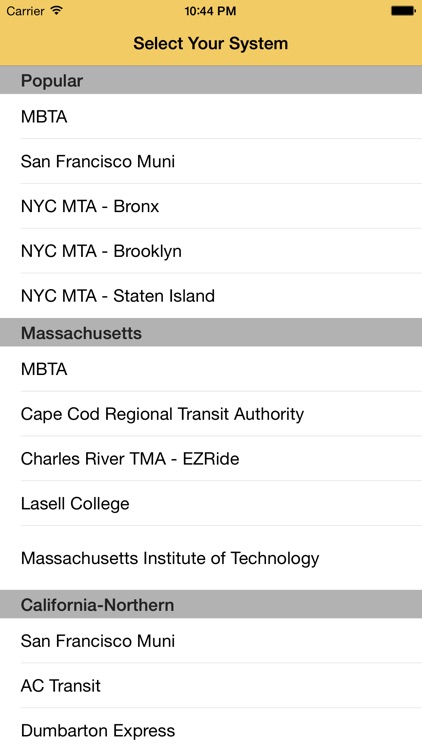 Catch The Bus: Real Time Bus Predictions screenshot-3