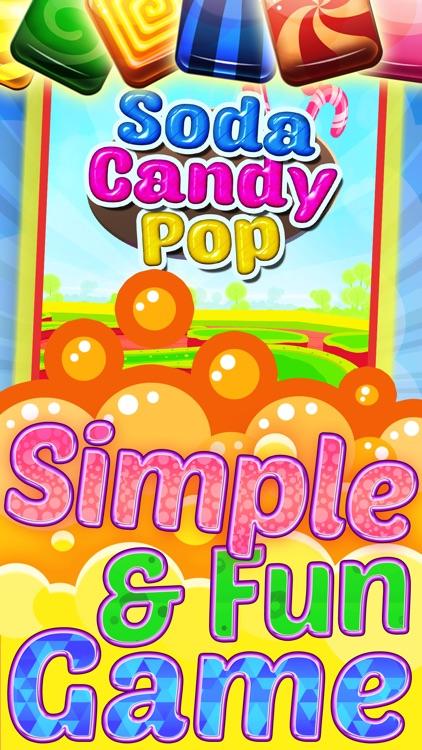 `` A Soda Candy Pop`` - Match 3 Bubble Shooter For Panda Kids FREE