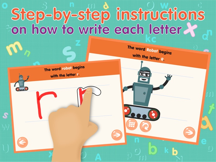 ABCs alphabet tracing based on Montessori approach for toddler HD