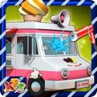 冰淇淋卡车洗 - 洗涤,清洗和肮脏的车清理游戏 icon