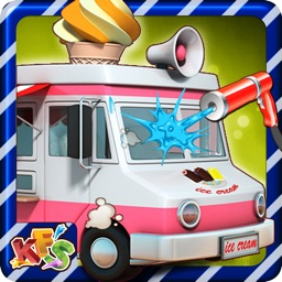 Ice Cream Truck Wash - Washing, cleaning & dirty car cleanup game