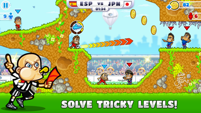 Screenshot from Super Party Sports: Football