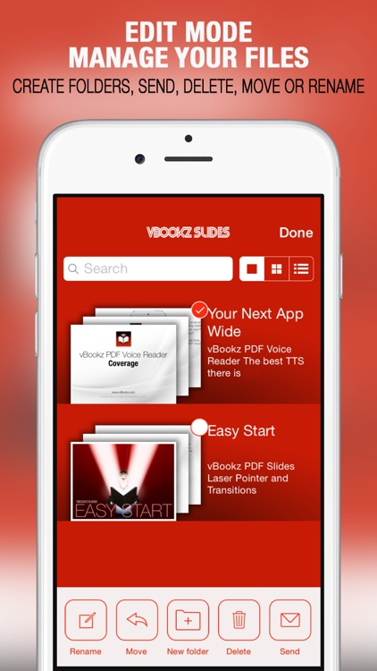 vBookz Slides - PDF Presentation Expert screenshot-4