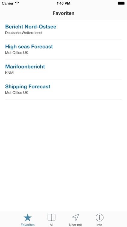SegelWetter - Wetter für Segler, im Taschenformat screenshot-3