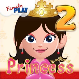 Princess Goes to School: Grade 2 Learning Games School Edition