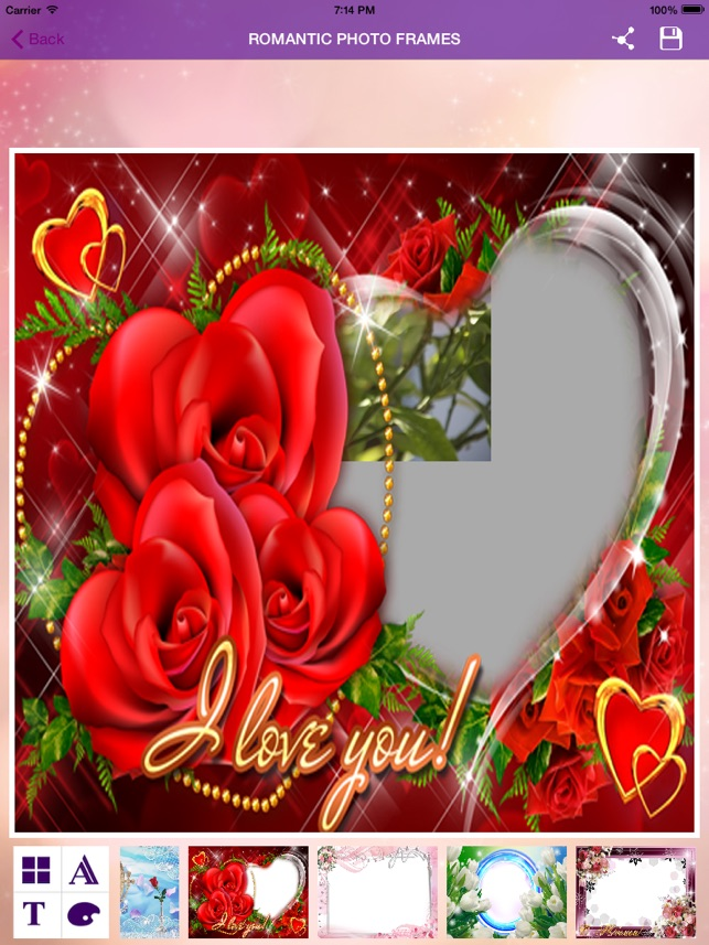 Photo With Romantic Frames on the App Store