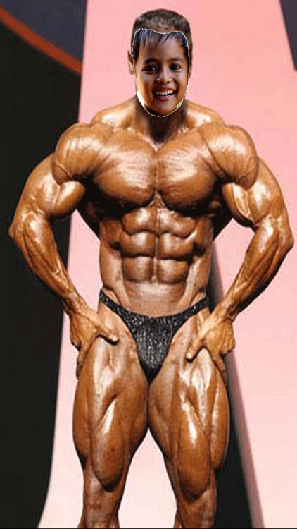 Man Body Builder Photo Montage Deluxe