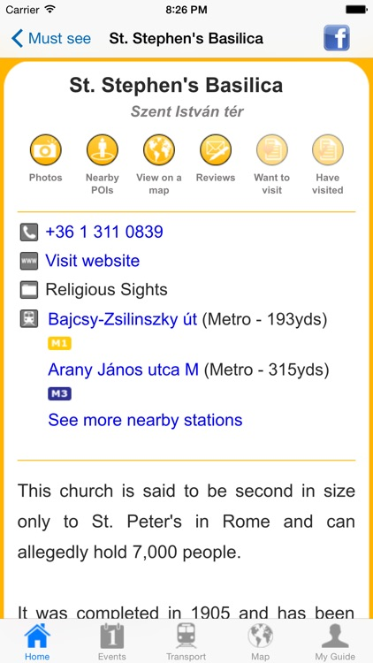 Budapest Travel Guide Offline screenshot-4