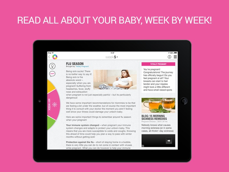 Totally Pregnant - The Total Pregnancy Experience For iPad