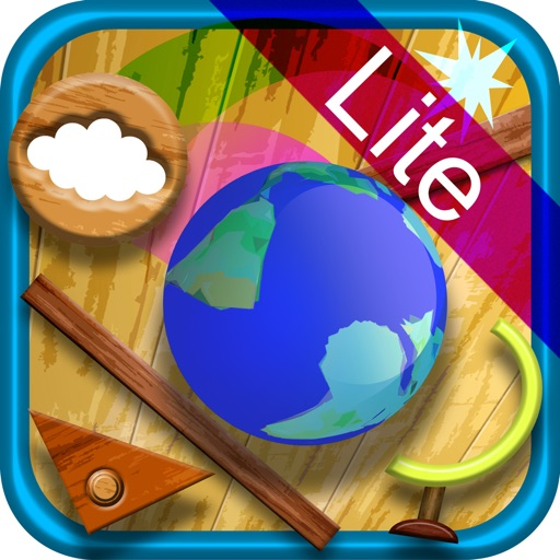 Rolling Globe Lite - Let's play at a secret base  -