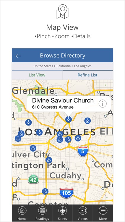Catholic Mass Times Church Directory screenshot-3