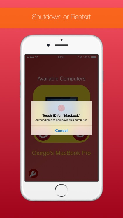 MacLock - Unlock your Mac with Touch ID using only your fingerprint