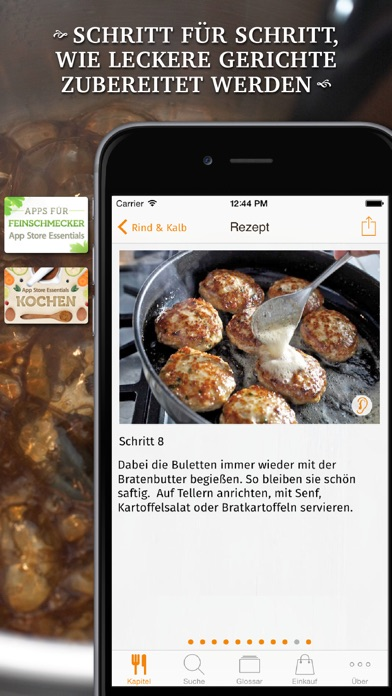 Screenshot for Kochen! in Germany App Store