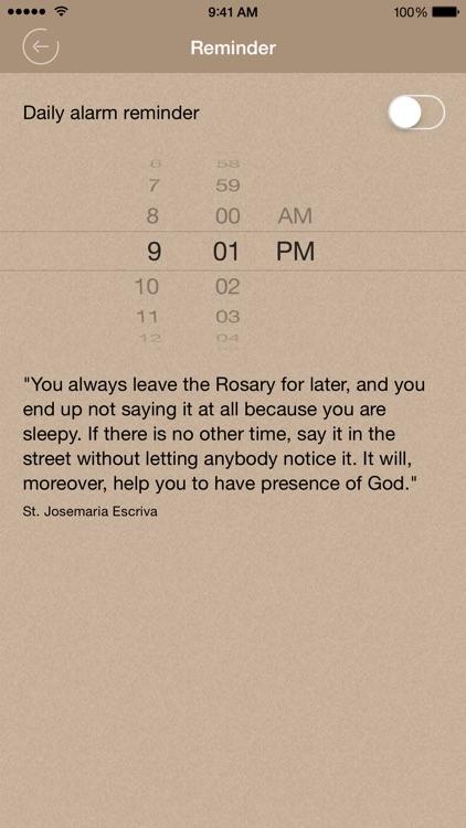 Scriptural Rosary Lite screenshot-4