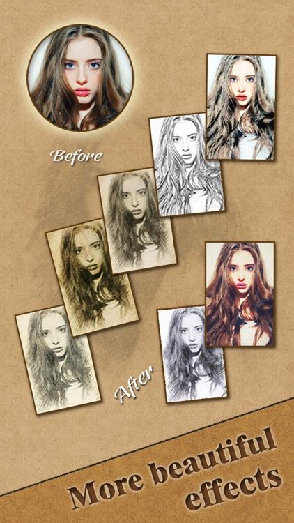 Cartoon Sketch Pro - Filter Booth to add Pencil Portrait Effect & Splash Color on Camera Photo screenshot-3