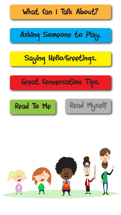 Conversation Social Stories & Simple PECS Communication Tool