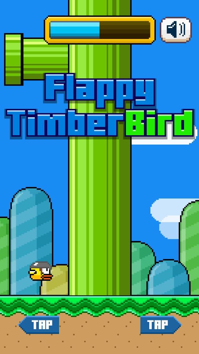 TimberBird - A Tiny Timberman Bird Adventure