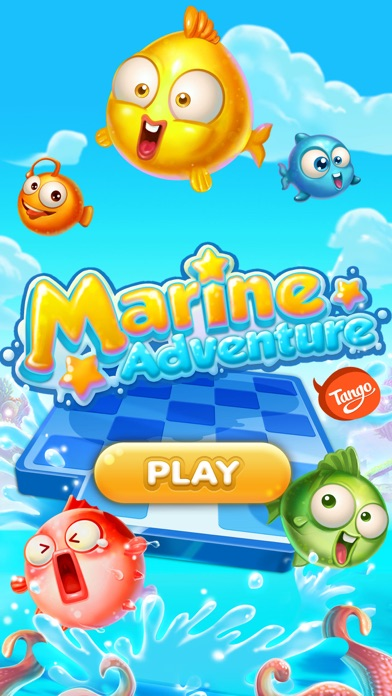 Marine Adventure -- Collect and Match 3 Fish Puzzle Game for TANGO screenshot one