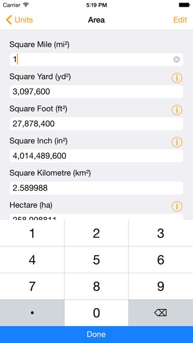 Units - Free Unit Converter screenshot one